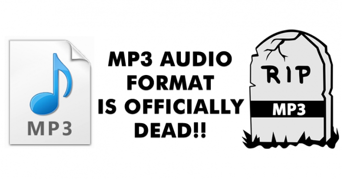 MP3 Format is officially dead