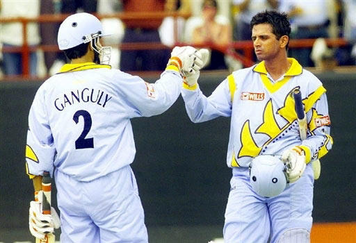 ganguly and dravid