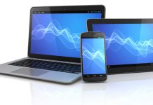 laptop or smartphone or tablet pc