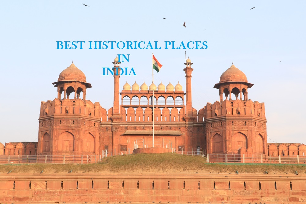 Top 6 historical places in India.