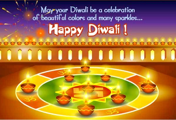70+ Happy Diwali SMS Messages in English 2017.