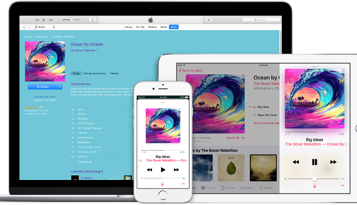 Best Music Library Store for iPhone