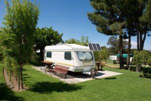 Carvan solar panels