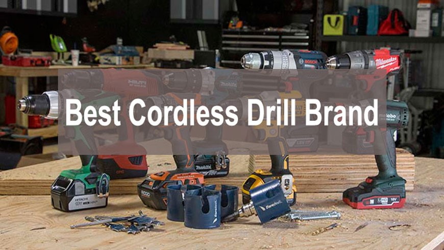 Top 5 Best Cordless Power Tool Brand