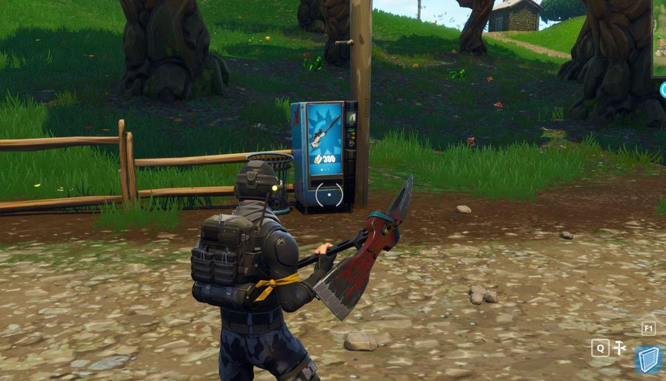 Where To Find All The Vending Machines In 'Fortnite: Battle Royale'