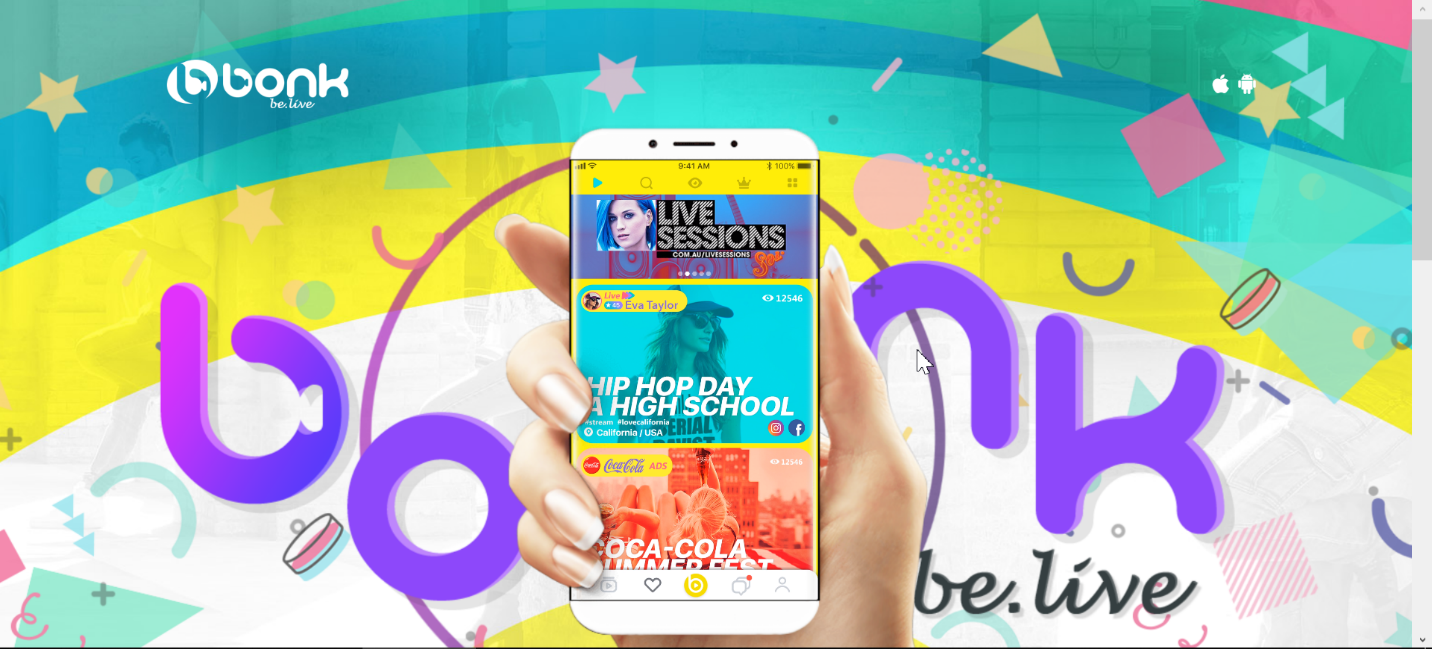 Bonk Be.Live – All Set to Start a New Revolution in Live Streaming World
