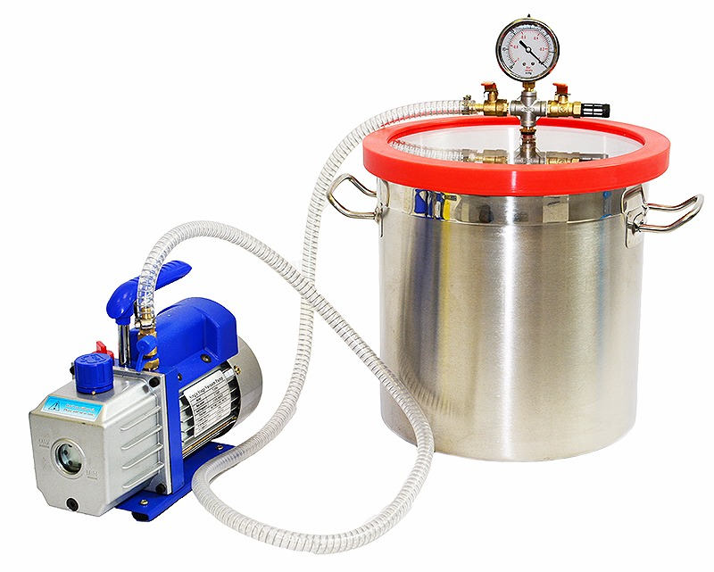 Create a small vacuum chamber for less than $30