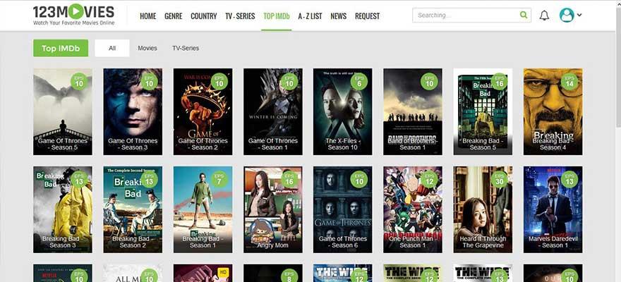 123Movies Movie Streaming Site
