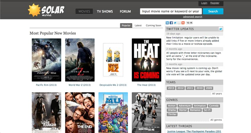 Best Features Of The Movie Streaming Site- SolarMovie