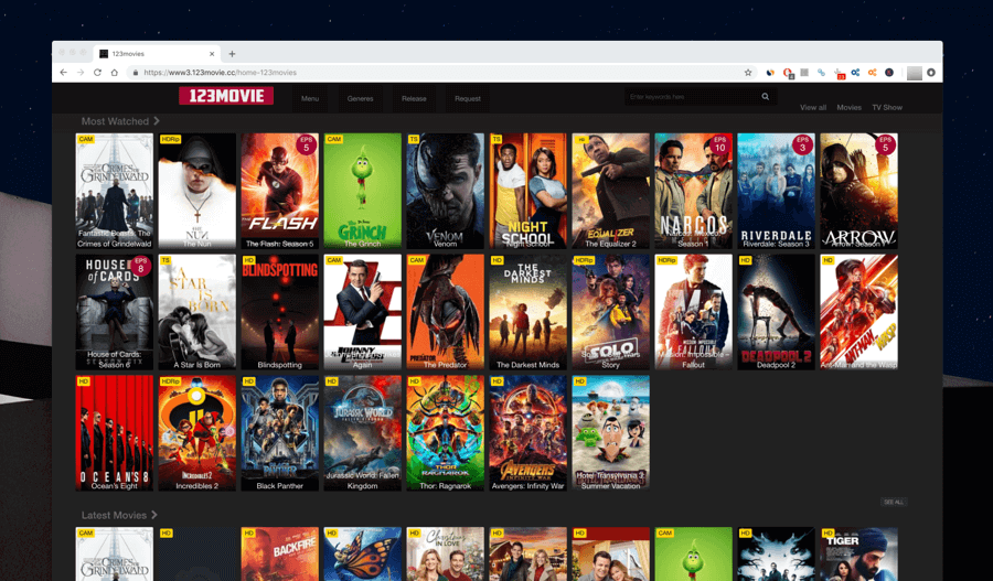 Top 10 Best Sites Like Solarmovie to watch your movies free