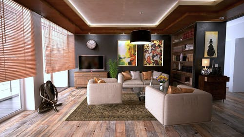 Decoration and Emphasis in Interior Design of Houses – Ideas