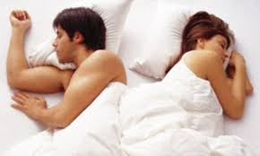 The liberty lover couple sleeping position